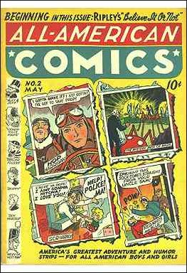 All-American Comics (1939) 2-A by DC