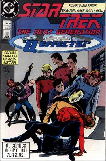 Star Trek: The Next Generation (1988) 5-A by DC