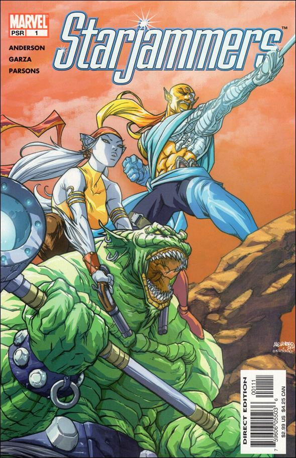 Starjammers (2004) 1-A by Marvel