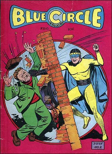 Blue Circle Comics 2-A by Enwil Associates