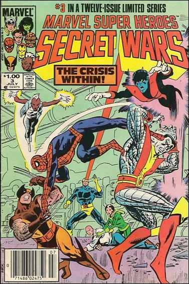 Marvel Super Heroes Secret Wars 3-B by Marvel