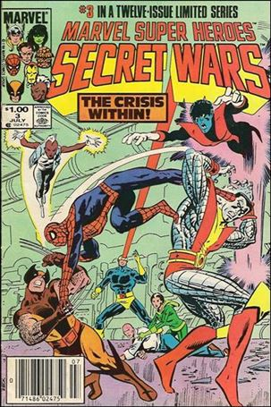 Marvel Super Heroes Secret Wars 3-B