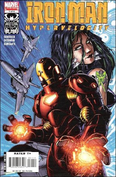 Iron Man: Hypervelocity 1-A by Marvel