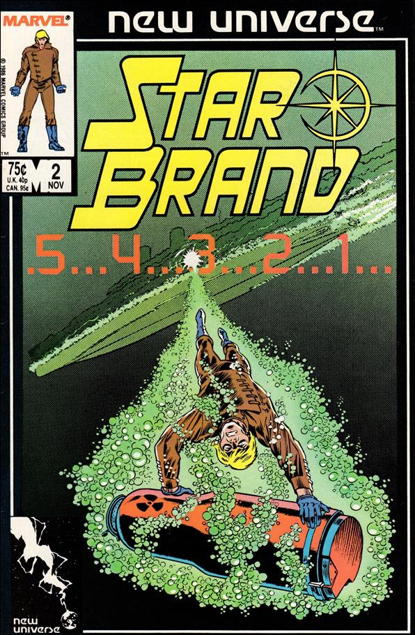 Star Brand 2-A by Marvel