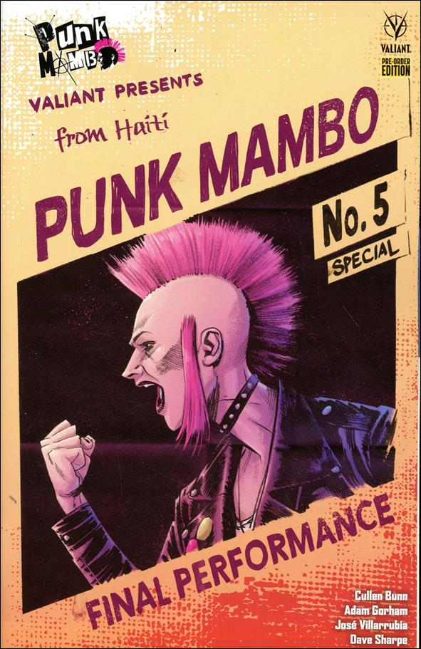 Punk Mambo (2019) 5-D by Valiant Entertainment
