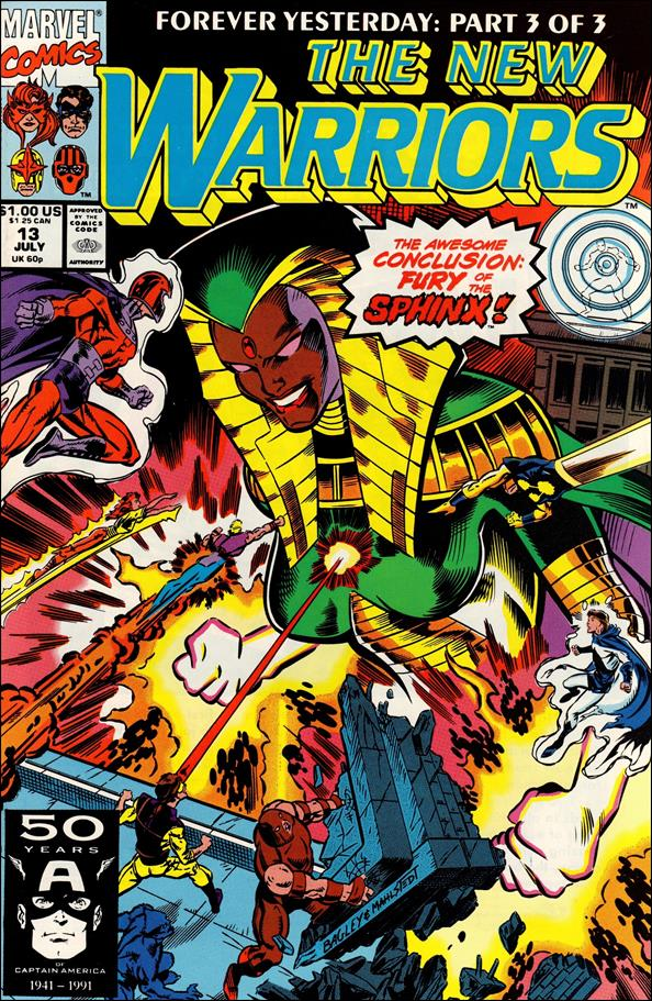 New Warriors (1990) 13-A by Marvel