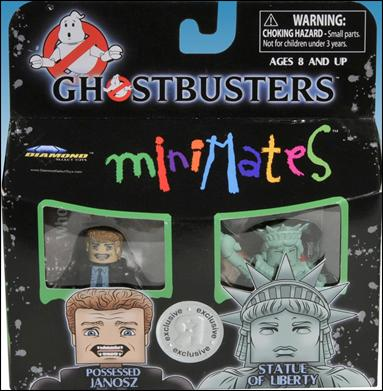 Ghostbusters Minimates Possessed Janosz and Statue of Liberty (TRU) by Diamond Select