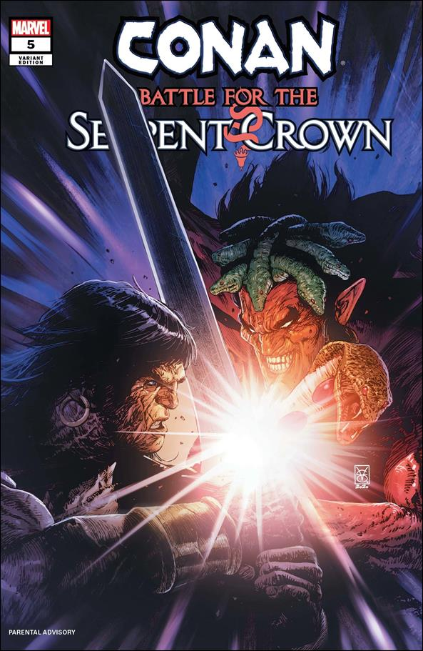 Conan: Battle for the Serpent Crown 5-C by Marvel