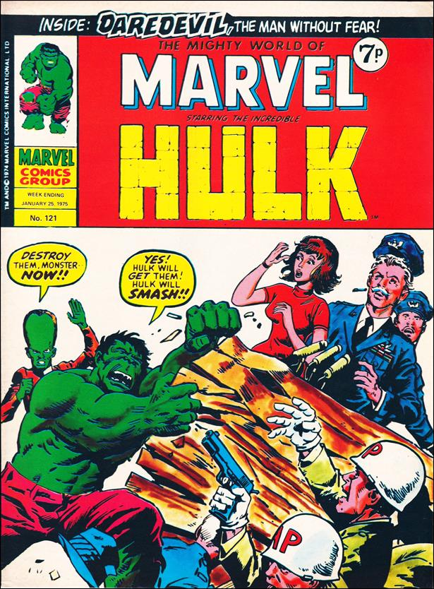 Mighty World of Marvel (UK) (1972) 121-A by Marvel UK