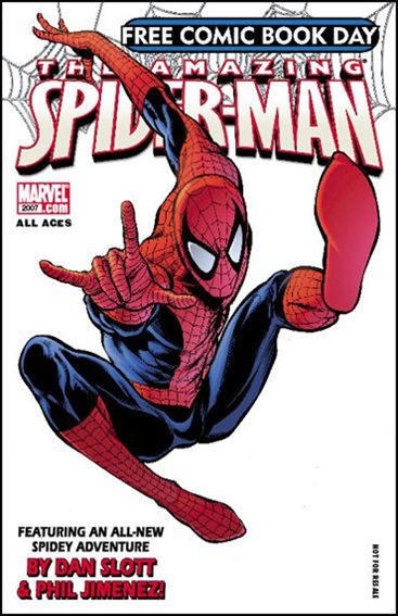 Free Comic Book Day 2007 (Spider-Man) 1-A by Marvel