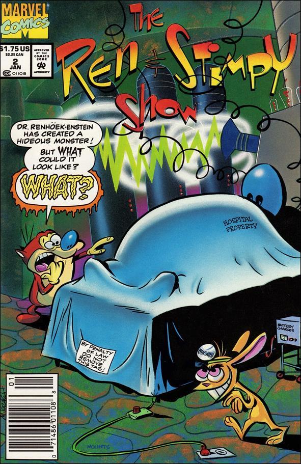 Ren & Stimpy Show 2-A by Marvel