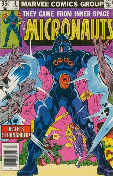 Micronauts (1979) 4-A by Marvel