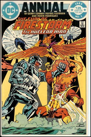 Fury of Firestorm Annual 1-A by DC
