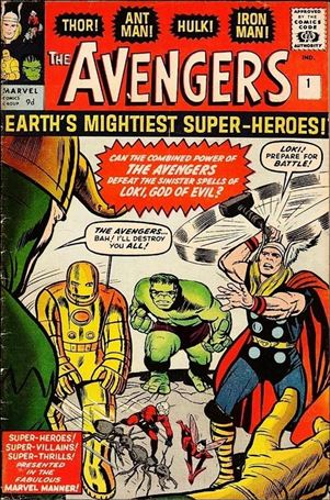 Avengers (1963) 1-B