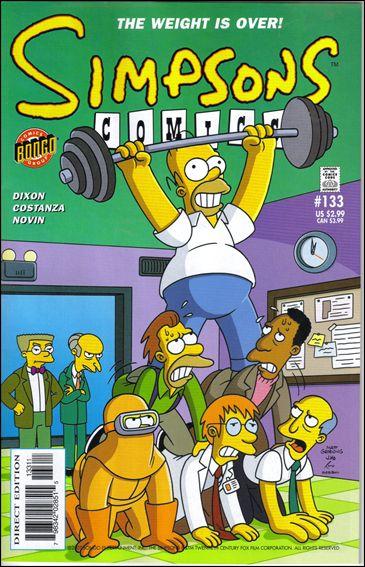Simpsons Comics 133-A by Bongo