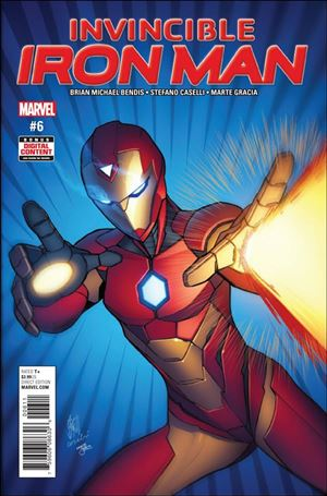 Invincible Iron Man (2017) 6-A