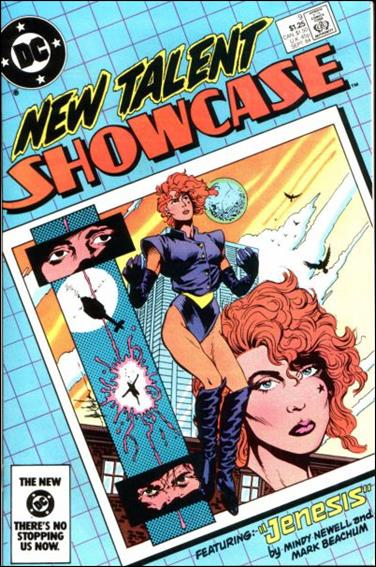 New Talent Showcase (1984) 9-A by DC