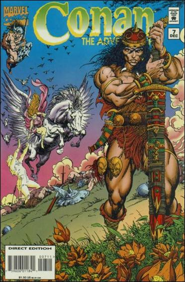 Conan the Adventurer 7-A by Marvel