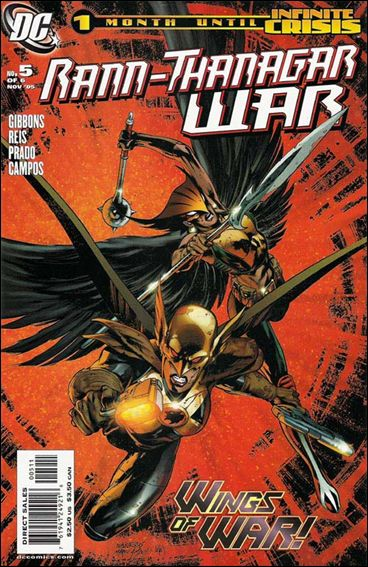 Rann/Thanagar War 5-A by DC