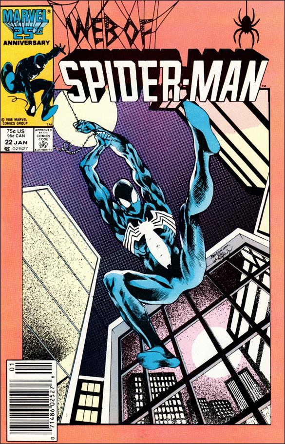 Web of Spider-Man (1985) 22-A by Marvel