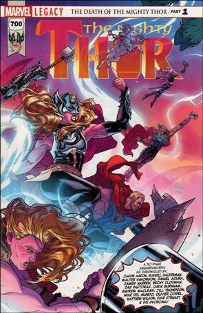 Mighty Thor (2016) 700-A