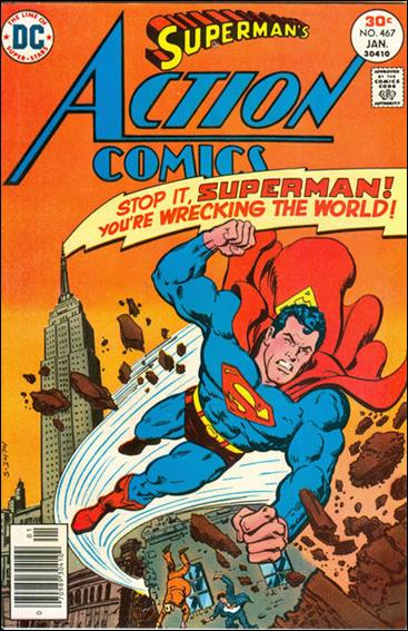 Action Comics (1938) 467-A by DC