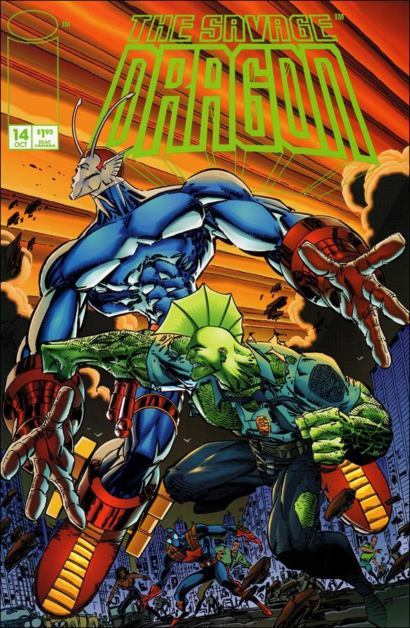 Savage Dragon (1993) 14-A by Image
