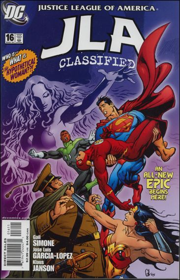 JLA: Classified 16-A by DC