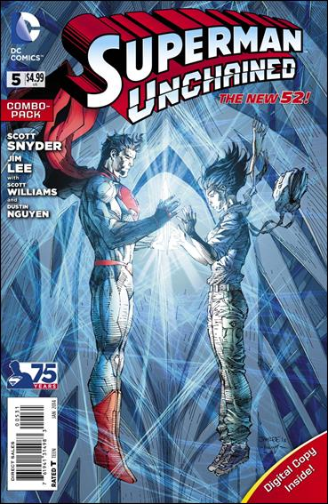 Superman Unchained 5-C by DC