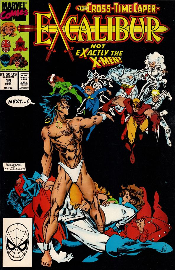 Excalibur (1988) 19-A by Marvel