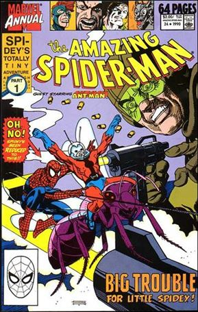 Amazing Spider-Man Annual 24-A
