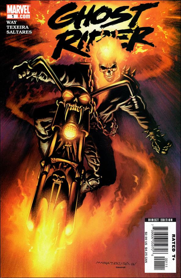 Ghost Rider (2006) 1-A by Marvel