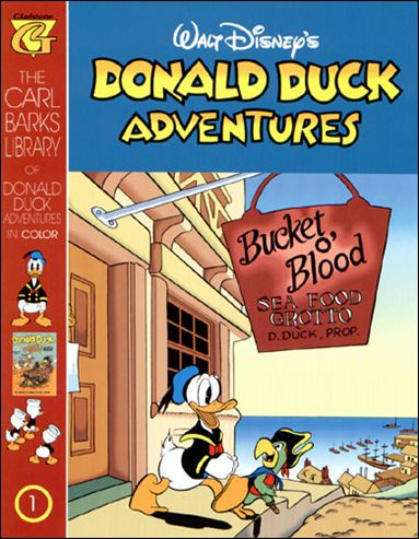 Carl Barks Library of Donald Duck Adventures 1-A by Gladstone