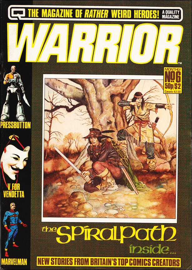 Warrior (UK) 6-A by Quality Communications