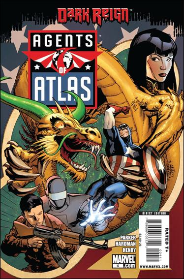 Agents of Atlas (2009) 4-A by Marvel