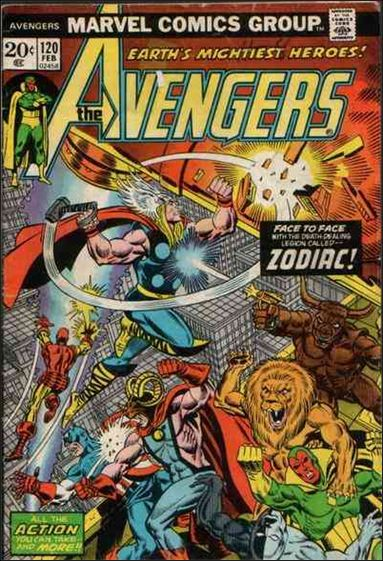 Avengers (1963) 120-A by Marvel