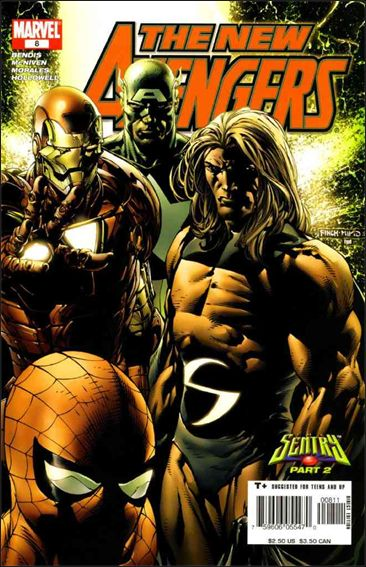 New Avengers (2005) 8-A by Marvel