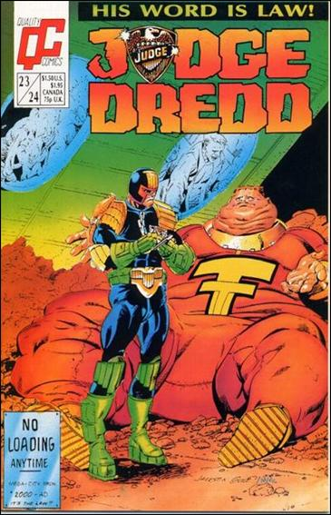 Judge Dredd (1986) 23/24-A by Quality Comics
