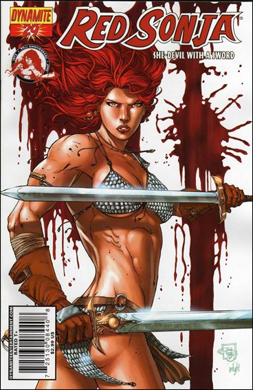 Red Sonja 29-B by Dynamite Entertainment