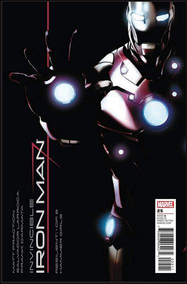 Invincible Iron Man (2008) 25-B by Marvel