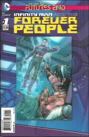 Infinity Man and the Forever People: Futures End 1-A