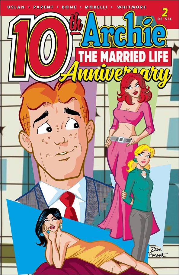 Archie: The Married Life - 10th Anniversary 2-A by Archie