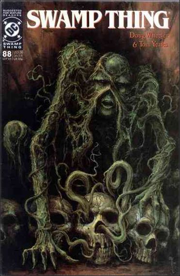 Swamp Thing (1986) 88-A by Vertigo
