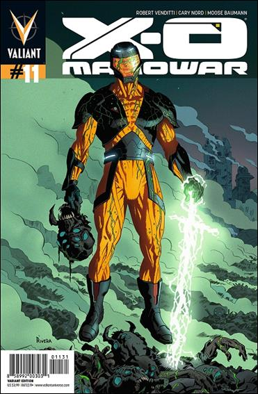 X-O Manowar (2012)  11-C by Valiant Entertainment