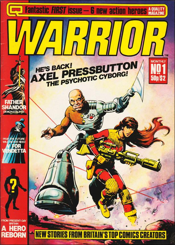 Warrior (UK) 1-A by Quality Communications