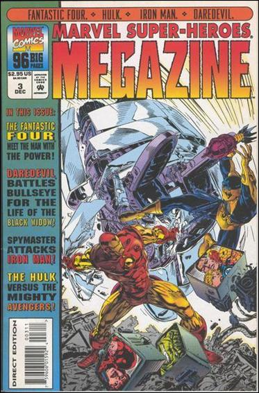 Marvel Super-Heroes Megazine 3-A by Marvel