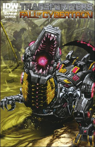 Transformers: Fall of Cybertron 1-A by IDW