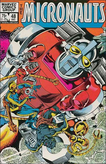 Micronauts (1979) 48-A by Marvel