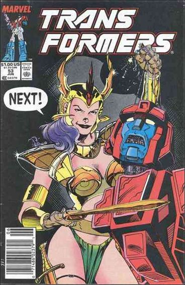 Transformers (1984) 53-A by Marvel