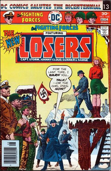 Our Fighting Forces (1954) 168-A by DC